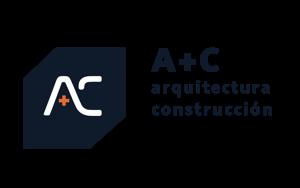 Logo arquitectura + construcción